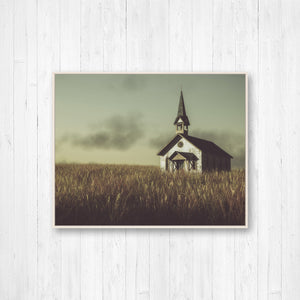 Old Rustic Church Photo Print