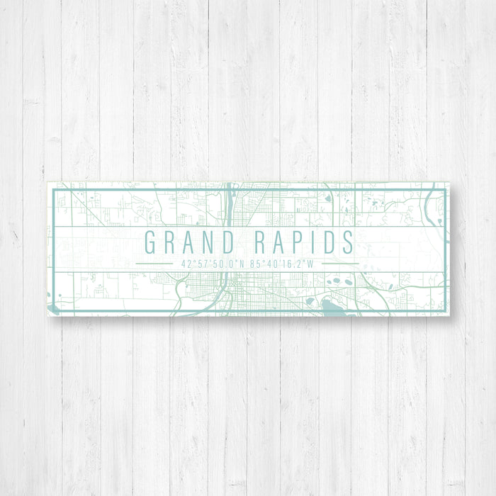 Grand Rapids Michigan Sign Print
