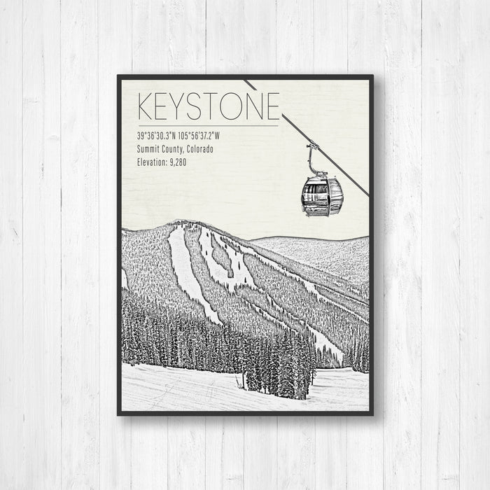 Keystone Ski Resort Print