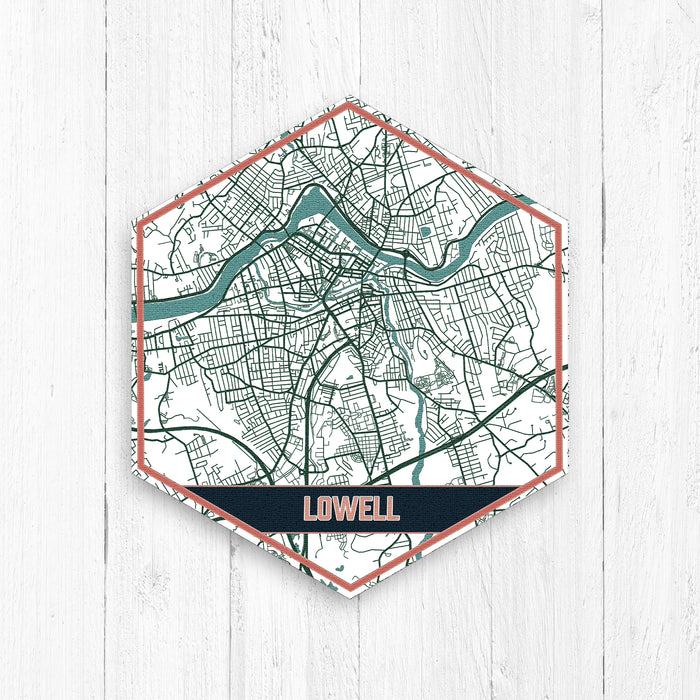 Lowell Massachusetts Map