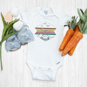 Juneau Alaska City Onesie® | Travel Baby Bodysuit | Toddler T-Shirts