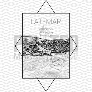 Latemar Rectangle
