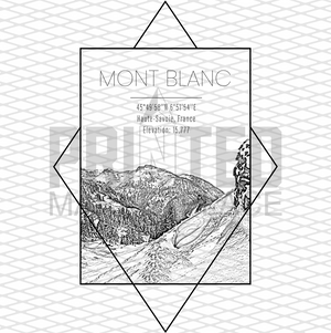 Mont Blanc Rectangle