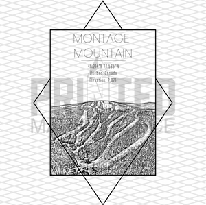 Montage Mountain Rectangle