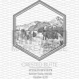 Crested Butte Hexagon