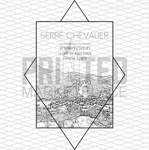 Serre Chevalier Rectangle