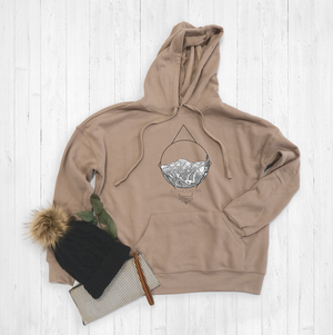 Red Mountains Hoodie