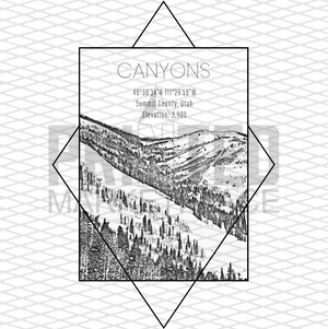 Canyons  Rectangle