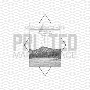 Mount Washington Alpine Rectangle
