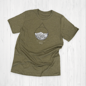 Red Mountains Tee Shirt