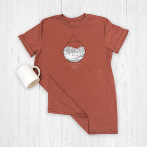Rust Heather Tee Shirt