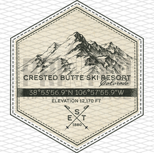 Crested Butte  Badge