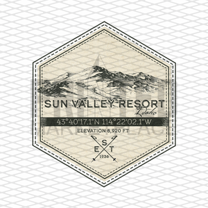 Sun Valley Badge