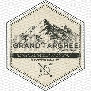 Grand Targhee Badge