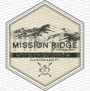 Mission Ridge Badge
