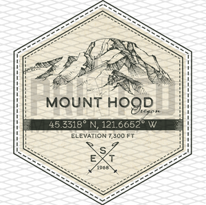 Mount Hood Badge