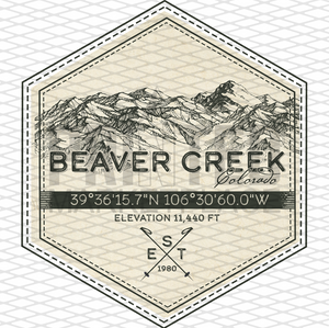 Beaver Creek Badge