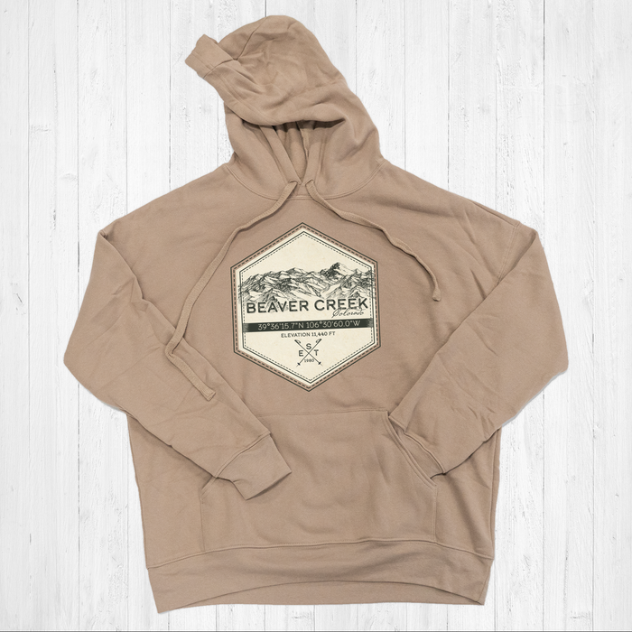 Beaver Creek Ski Badge Tee Shirt or Hoodie