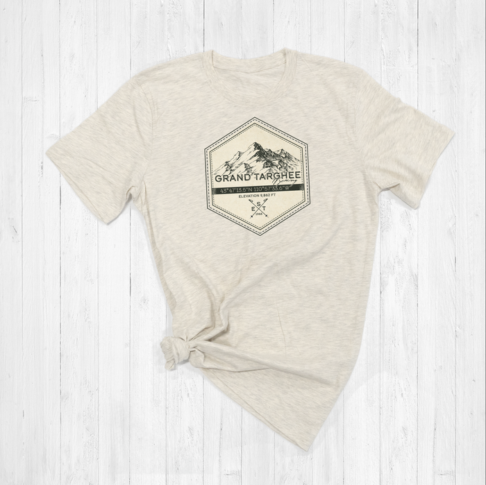 Grand Targhee Ski Badge Tee Shirt or Hoodie