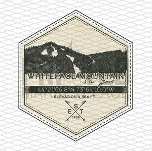 Whiteface Badge