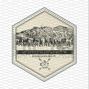 Timberline Lodge Badge