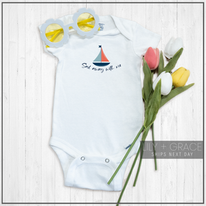 Sail Away With Me Onesie®