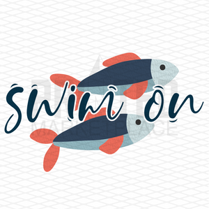 Swim On Fish Kids Design