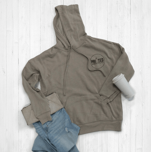 Customizable Logo Hoodie by Printed Marketplace