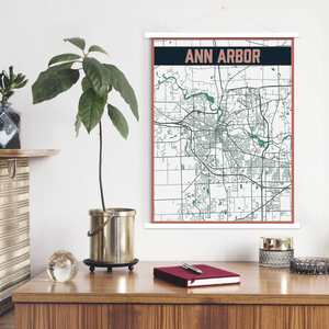 Ann Arbor Hanging Canvas