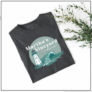 Martha's Vineyard Graphic Tee Shirt or Hoodie by Printed Marketplace