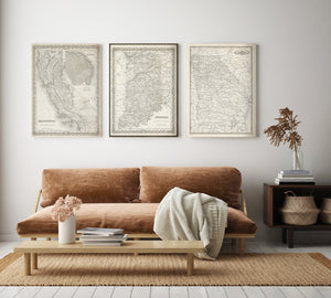 collect your favorite antique maps