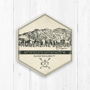 Timberline Lodge Ski Resort Print