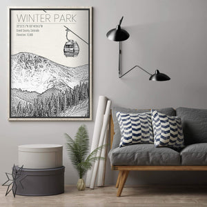 Ski Resort Prints