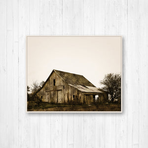 Old Rustic Barn Photo Print