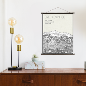 Breckenridge Hanging Canvas