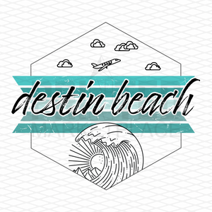 Destin Beach Onesie® | Toddler Travel Apparel | Infant Bodysuit