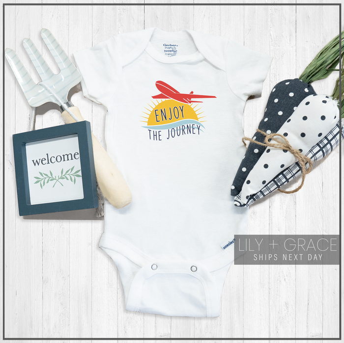 Enjoy The Journey Onesie® | Toddler Travel Apparel | Infant Boutique