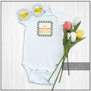Follow The Sun Onesie® | Printed Marketplace