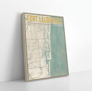 Fort Lauderdale Florida City Street Map