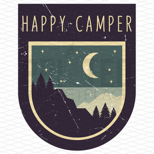 Happy Camper Onesie® | Printed Marketplace