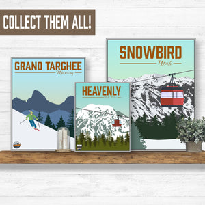 Ski Destination Wall Decor