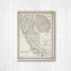 California State Map