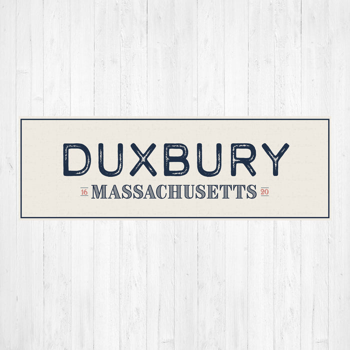 Duxbury Massachusetts Canvas Print