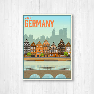 Germany Modern illustration