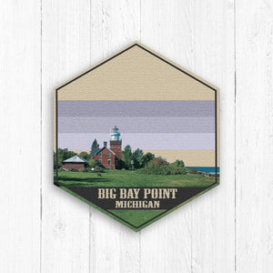 Big Bay Point Hexagon Illustration