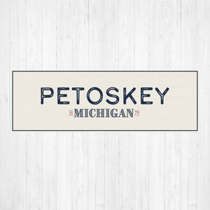 Petoskey Michigan Home Canvas Print