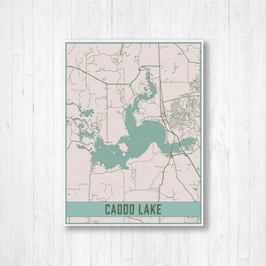 Caddo Lake Map