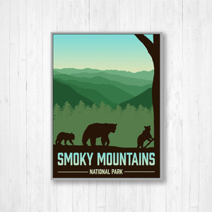 Smoky Mountains National Park Print