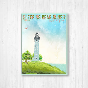 Sleeping Bear Dunes Michigan Canvas Print