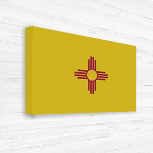 New Mexico Flag Map Print